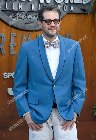 """Michael Giacchino arrives at the Los Angeles premiere of """"Jurassic World: Fallen Kingdom"""" at the Walt Disney Concert Hall on"""
