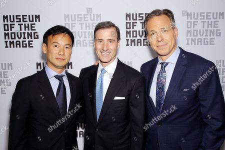 Dexter Goei, Ivan Lustig (MMI Board Co-Chair), Jake Tapper