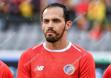 Editorial image of Costa Rica Soccer, Brussels, Belgium - 11 Jun 2018