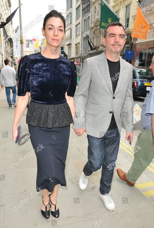 Stock Picture of Mary McCartney and Simon Aboud