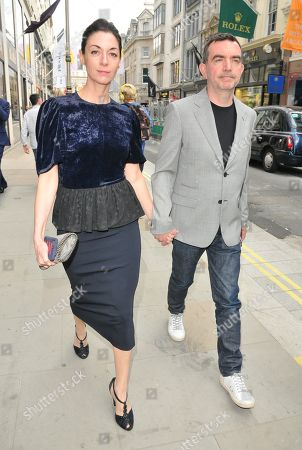 Stock Photo of Mary McCartney and Simon Aboud