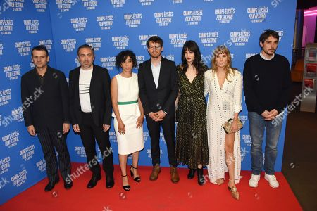 Serge Bozon, Sebasien Betbeder, Naidra Ayadi, Pierre Deladonchamps, Judith Chemla and Ana Girardot, Damien Bonnard