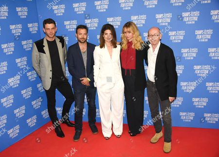 Arnaud Valois, Hubert Charuel, Esther Garrel, Katell Quillevere and Christophe Taudiere