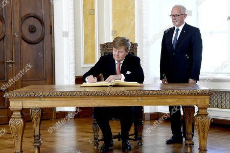 Editorial picture of King Willem-Alexander visit to Estonia - 12 Jun 2018