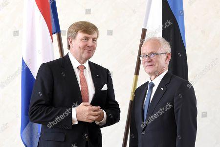 King Willem-Alexander with Eiki Nestor