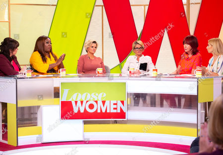 Coleen Nolan, Chizzy Akudolu, Kerry Katona, Danniella Westbrook, Janet Street-Porter and Stacey Solomon