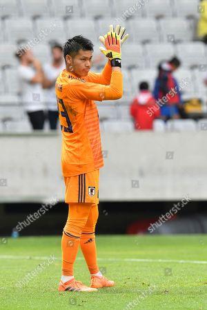 Japan's Kosuke Nakamura during the friendly soccer match between Japan and Paraguay in the Tivoli Stadium in Innsbruck, Austria