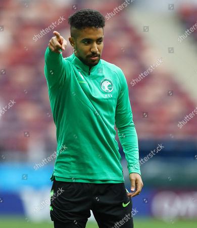 Hattan Bahebri of Saudi Arabia
