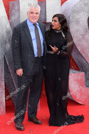 Gary Ross and Mindy Kaling