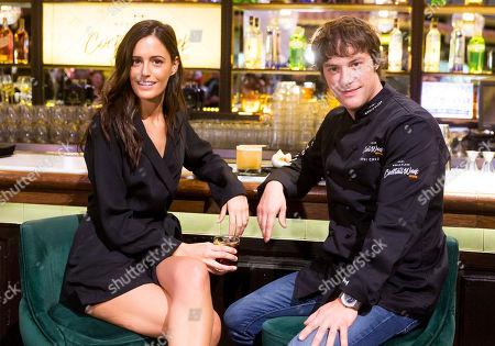 Spanish chef Jordi Cruz and Begona Martin