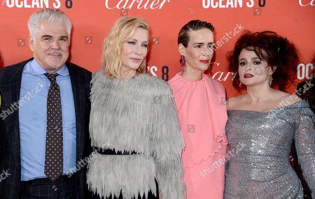 Gary Ross, Cate Blanchett, Sarah Paulson, Helena Bonham Carter