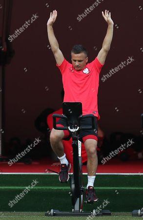 Editorial photo of Poland training session , 2018 FIFA World Cup football match, Sputnik-Sport Stadium, Sochi, Russia - 13 Jun 2018