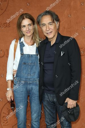 Stock Image of Richard Berry and his wife Pascale Louange