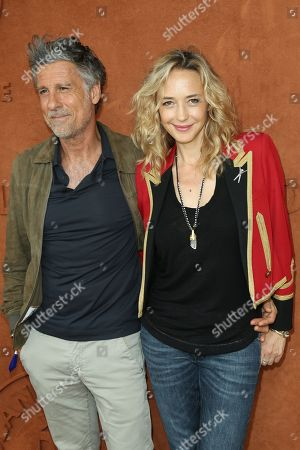 Marc Simoncini and Helene de Fougerolles