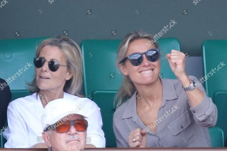 Claire Chazal and Anne-Sophie Lapix