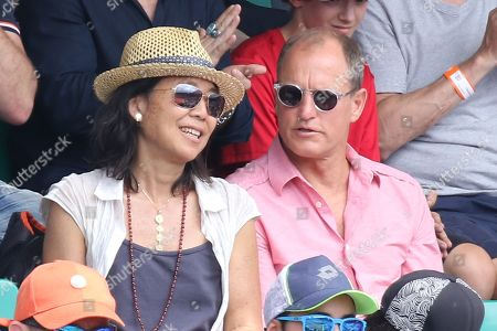 Woody Harrelson and wife Laura Louie