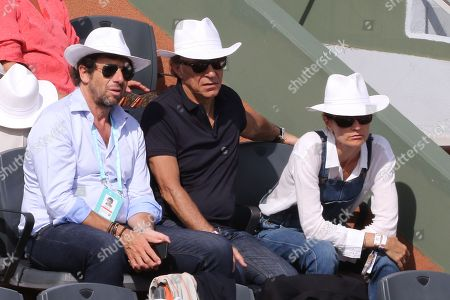 Patrick Bruel, Richard Berry and his wife Pascale Louange