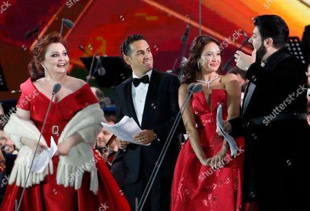 Albina Shagimuratova, Juan Diego Florez, Aida Garifullina and Yusif Eyvazov