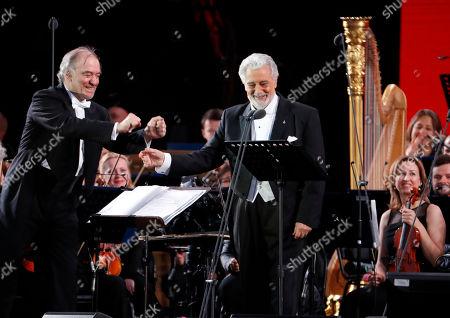 Valery Gergiev and Placido Domingo