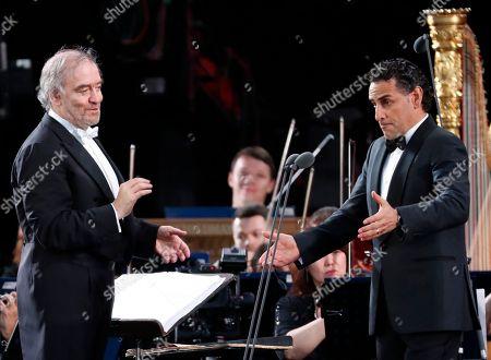 Juan Diego Florez and Valery Gergiev