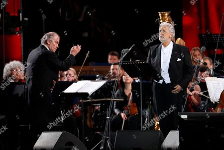 Valery Gergiev and Placido Doming