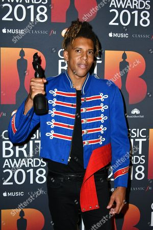 Tokio Myers, winner PPL Classic Brits Breakthrough Artist of the Year