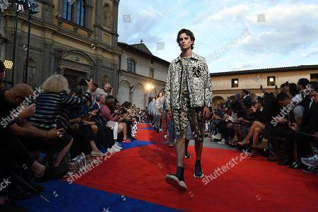 Editorial picture of Roberto Cavalli - Runway - Pitti Immagine Uomo, Florence, Italy - 13 Jun 2018