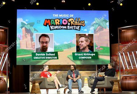Grant Kirkhope, Davide Soliani, Geoff Keighley
