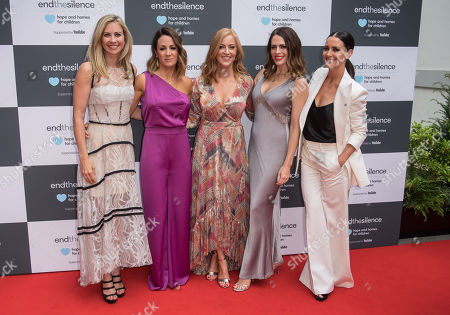 Holly Branson, Natalie Pinkham, Sarah-Jane Mee, Susie Amy and Kirsty Gallacher