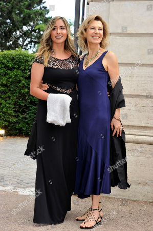 Daniela Poggi with her daughter Sarise