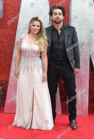 Crissie Rhodes and Ben Earle