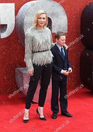 Editorial image of 'Ocean's 8' film premiere, Arrivals, London, UK - 13 Jun 2018
