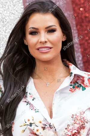 Stock Photo of Jess Wright poses for photographers upon arrival at the premiere of the film 'Ocean's 8' in central London