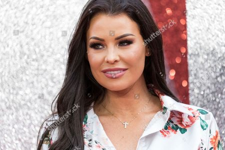 Stock Image of Jess Wright poses for photographers upon arrival at the premiere of the film 'Ocean's 8' in central London