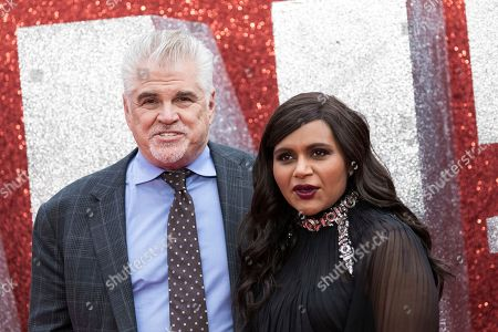 Gary Ross, Mindy Kaling. Director Gary Ross and actress Mindy Kaling pose for photographers upon arrival at the premiere of the film 'Ocean's 8' in central London