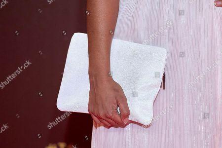 Mary Ruiz, handbag detail