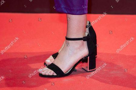 Andrea Guasch, shoe detail