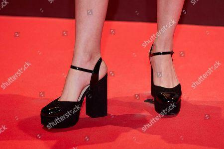 Claudia Galan, shoe detail