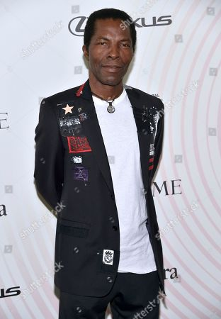 Isaach de Bankole arrives at the Women In Film Crystal and Lucy Awards at the Beverly Hilton Hotel, in Beverly Hills, Calif