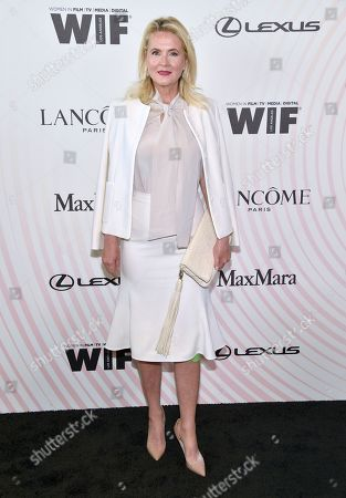 Cornelia Guest arrives at the Women In Film Crystal and Lucy Awards at the Beverly Hilton Hotel, in Beverly Hills, Calif