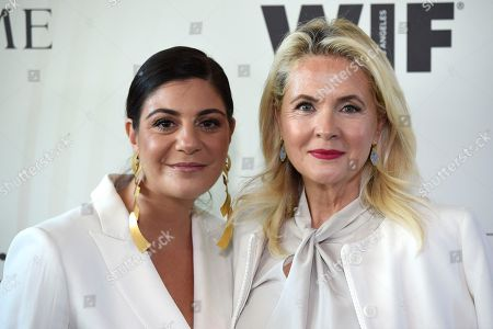 Editorial picture of Women In Film 2018 Crystal and Lucy Awards - Arrivals, Beverly Hills, USA - 13 Jun 2018