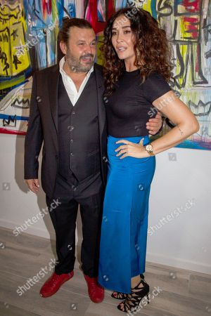 Vicky Martin Berrocal and Domingo Zapata