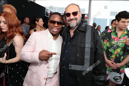 Jason Mitchell and Joel Silver, Producer