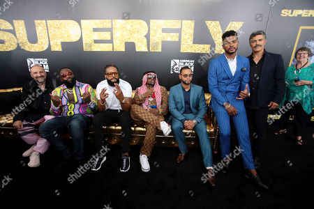 Joel Silver, Producer, Rick Ross, Kia Shine, Big Boi, Director X., Director, Trevor Jackson and Esai Morales