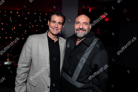 Stock Image of Hal Sadoff, Executive Producer, and Joel Silver, Producer,
