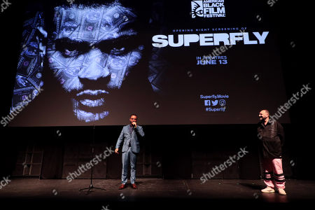 Editorial photo of American Black Film Festival opening night screening of Sony Pictures 'Superfly', Miami Beach, Florida, USA - 13 Jun 2018