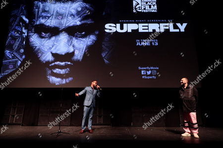 Editorial picture of American Black Film Festival opening night screening of Sony Pictures 'Superfly', Miami Beach, Florida, USA - 13 Jun 2018