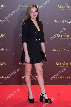Editorial image of 'Magnum' campaign launch, Gran Maestre Theatre, Madrid, Spain - 13 Jun 2018