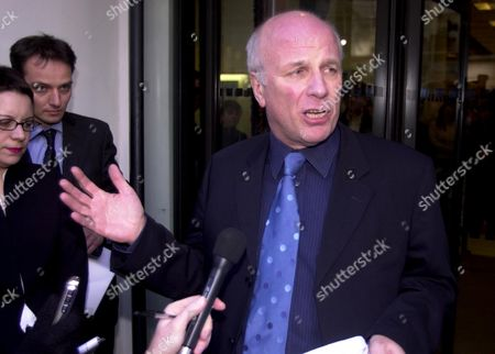 Greg Dyke Director-general Of The BBC Leaves Portland Place After Resigning. His Resignation Came 24 Hours After The Departure Of The Chairman Gavyn Davies In The Wake Of Lord Hutton's Criticism Of The Of The BBC's Role In The David Kelly Affair.greg Dyke Resigns From The BBC.