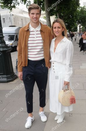 Stock Image of Toby Huntington-Whiteley, Cecily Brown